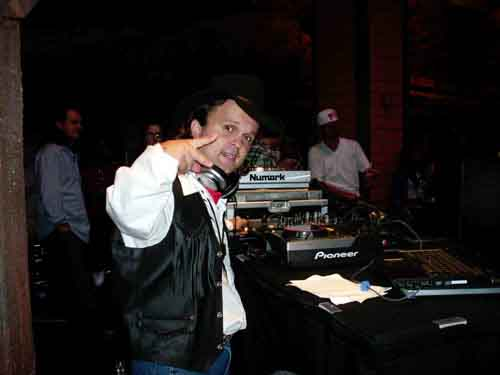 DJ Mighty Mike at Wild West in Atlantic City's Bally casino